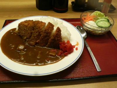 「苅田食堂」のカツカレー